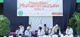 Keluarga Besar SMA Islam Almaarif Singosari Memperingati Maulid Nadi Muhammad SAW