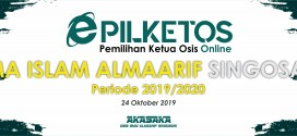 PILKETOS ( Pemilihan Ketua Osis Online ) SMA Islam Almaarif Singosari 2019/2020