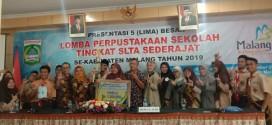 Perpustakaan SMA Islam Almaarif Singosari mendapatkan Juara 3 dalam Lomba Perpustakaan Se Kabupaten Malang