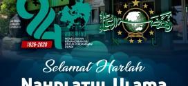 KELUARGA BESAR SMA ISLAM ALMAARIF SINGOSARI MENGUCAPKAN SELAMAT MEPERINGATI HARLAH NU KE-94