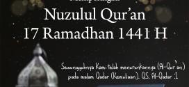 Nuzulul Qur'an 1441 H