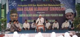 PERINGATAN MAULID NABI MUHAMMAD SAW DAN PEMBACAAN 4444  SHOLAWAT THIBIL QULUB SMA ISLAM ALMAARIF SINGOSARI