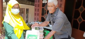 SMA Islam Almaarif Singosari Berbagi Danging Kurban di Tengah Pandemi