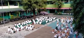 Kegiatan Do'a Bersama Peringatan 1 Muharrom 1443 H Keluarga Besar YP Almaarif Singosari
